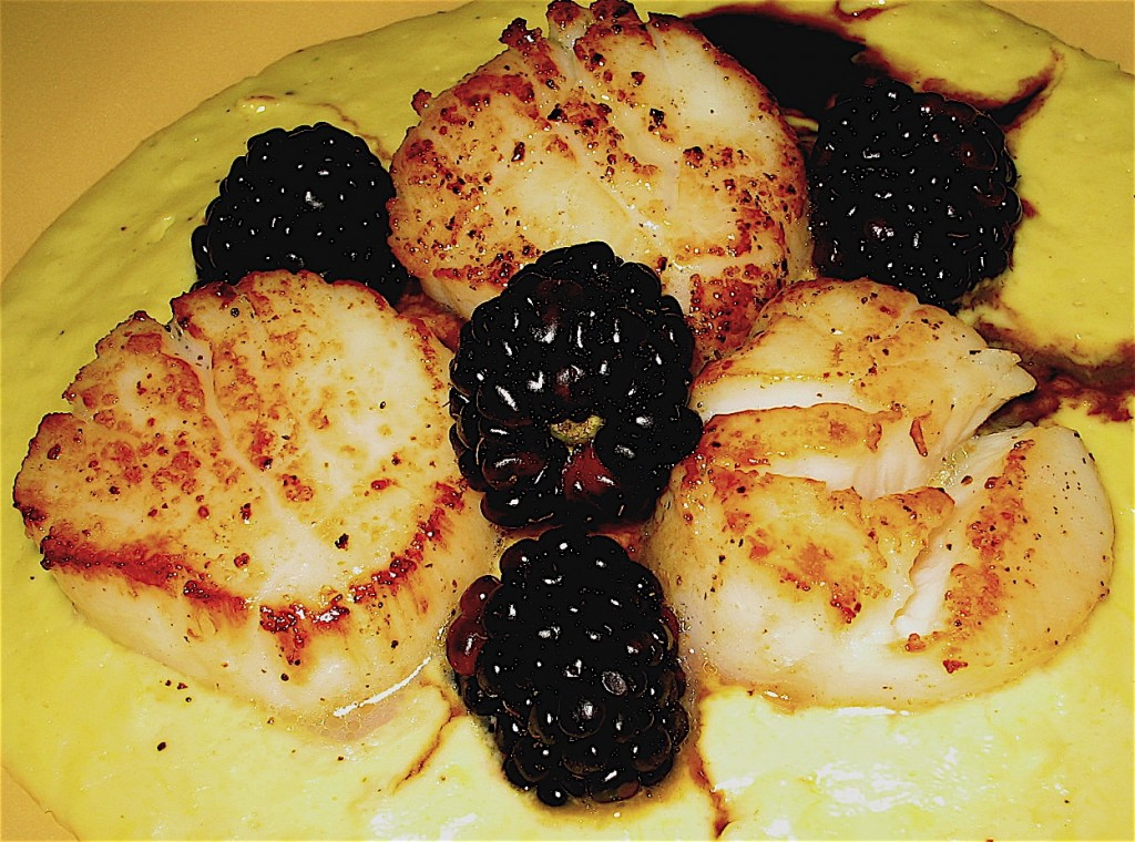 scallops-and-bberries